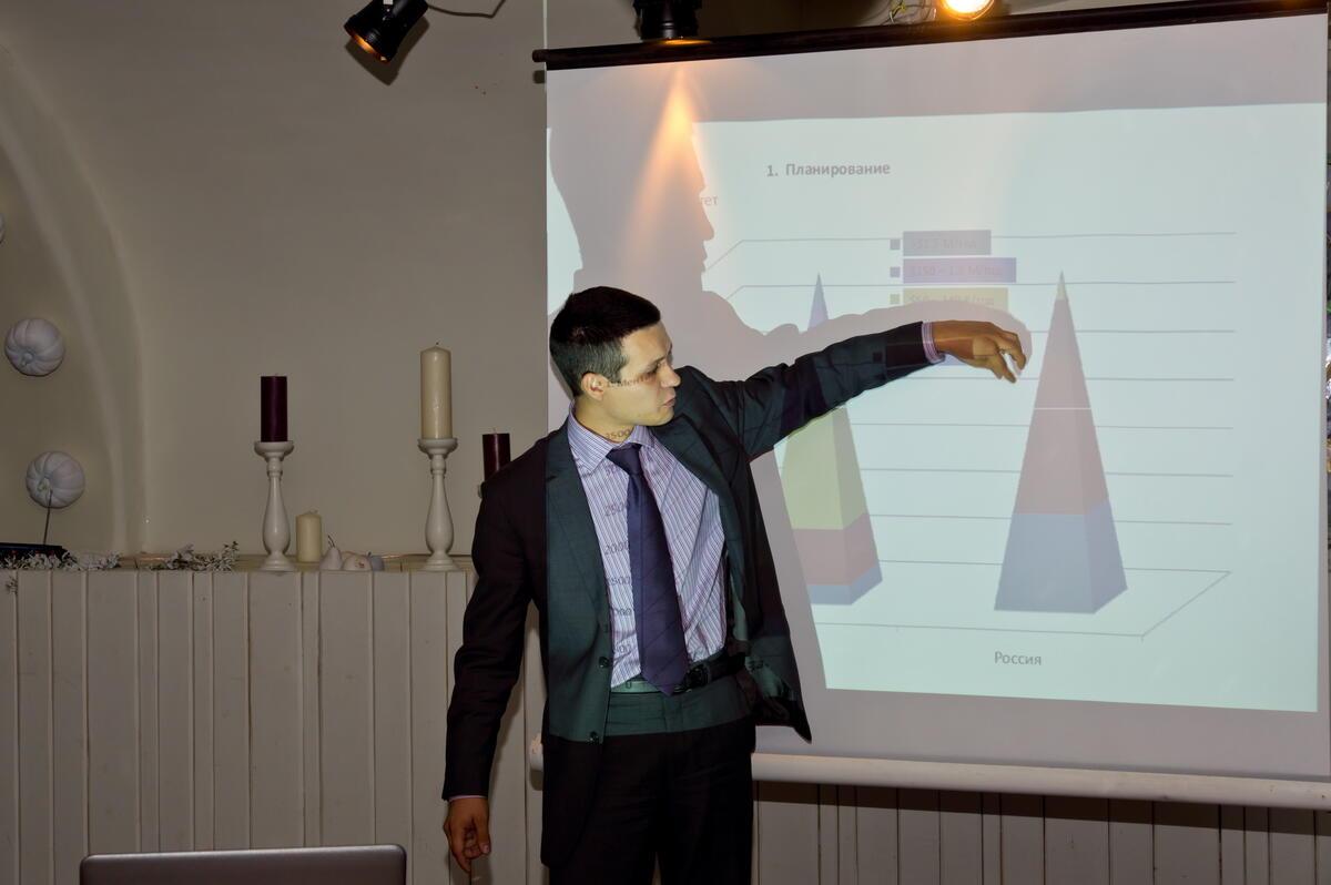 Мегаплан на встрече Marketing in Russia 4