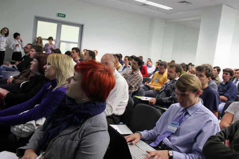 Мегаплан в практической конференции PM Camp 2011 г. Киев 1